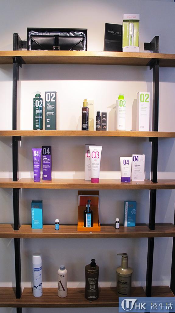 洗髮護髮用品都是韓國製。
