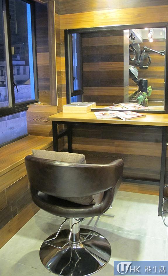 髮型屋設有小型VIP房,照顧想有私人空間的客人。