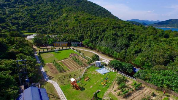 農莊內有大片農地及草坪 (圖片來源:FB清新地有機休閒農莊)