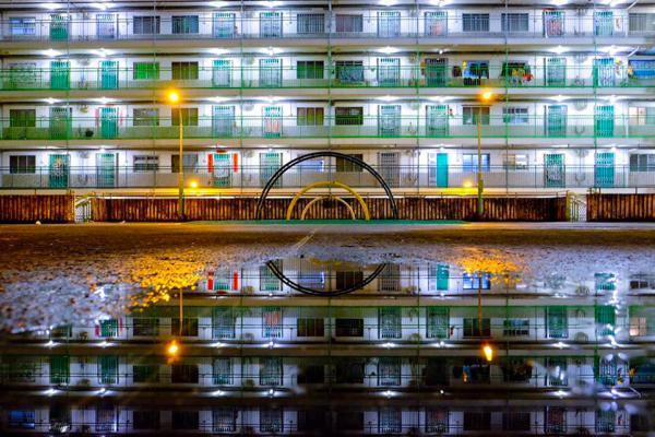 屋邨之鏡  (圖片來源:FB@Kian Lee)