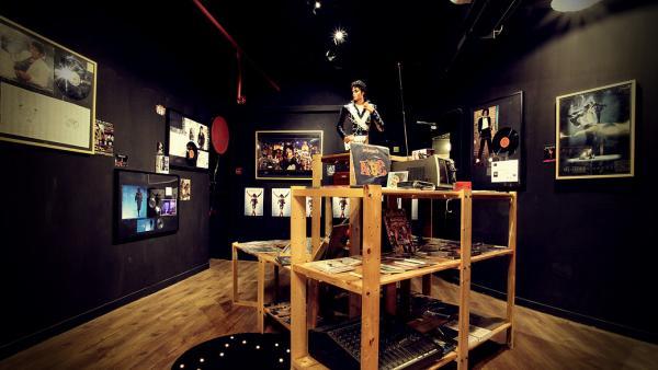 MJ紀念展覽區