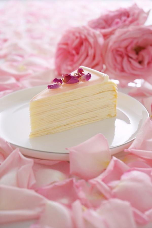 全港首推!Lady M香港店限定玫瑰千層蛋糕