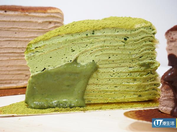 網上人氣千層蛋糕鋪殺入太子 熱賣14層流心抹茶口味!
