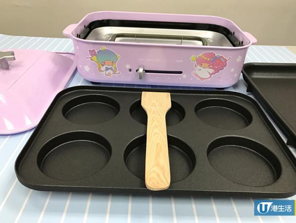 Sanrio Characters多功能電熱鍋 粉紅及粉紫色登場