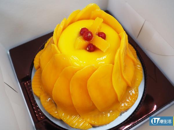聖安娜餅屋全新芒果蛋糕系列 足400克重量級芒果肉!