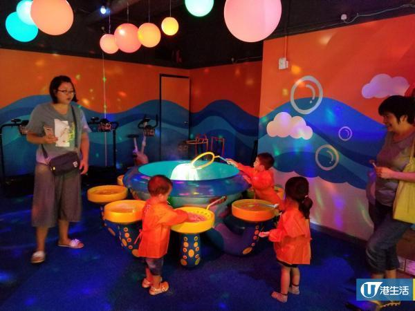荃灣新開室內兒童遊戲場 1500呎泡泡海洋主題