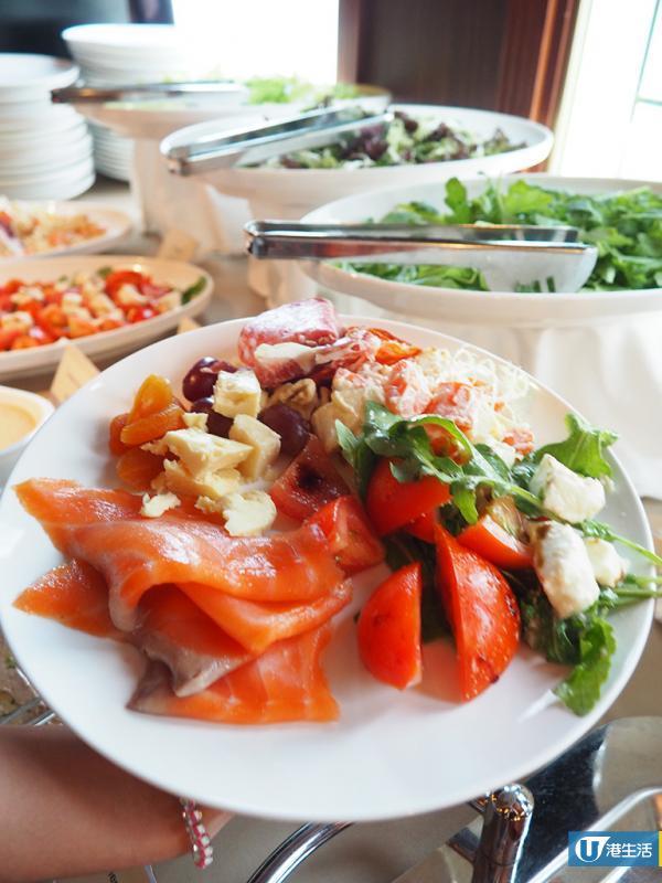 荔枝角周末限定意式放題 任食沙律冷盤+超過10款意粉