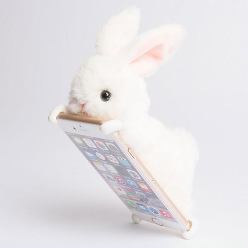 揽实电话唔放!日本新出动物手机壳电话座