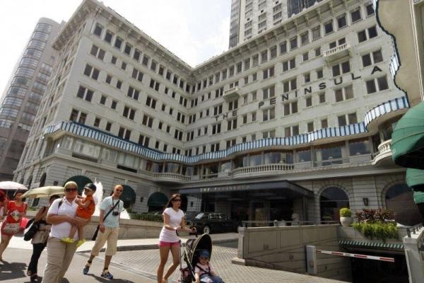 酒店附近是著名的購物區。