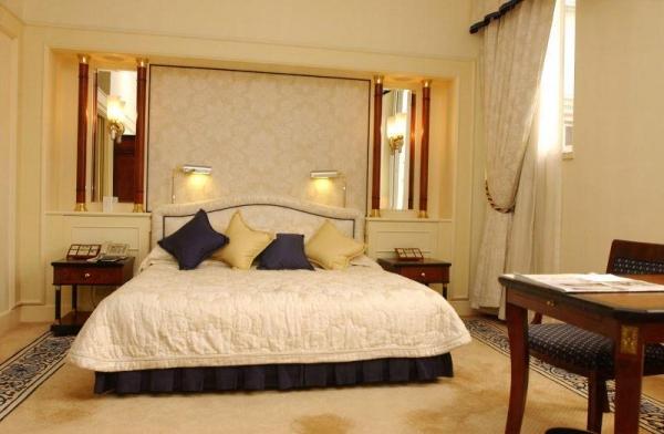 高級客房設計簡約而別致。