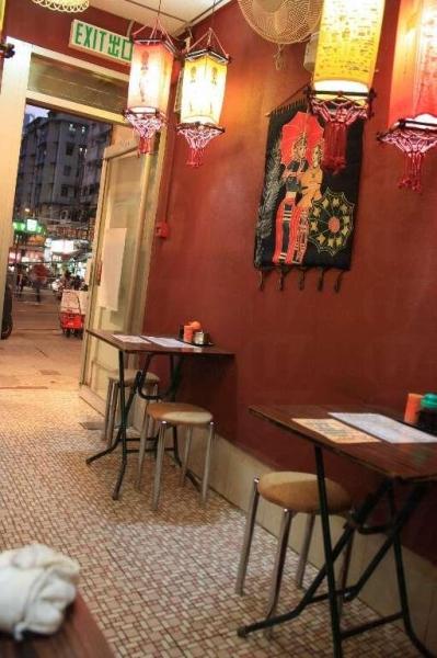 餐廳佈置亦富雲南風情
