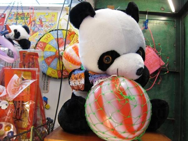 鐵皮屋標記-西瓜波及北京小熊。
