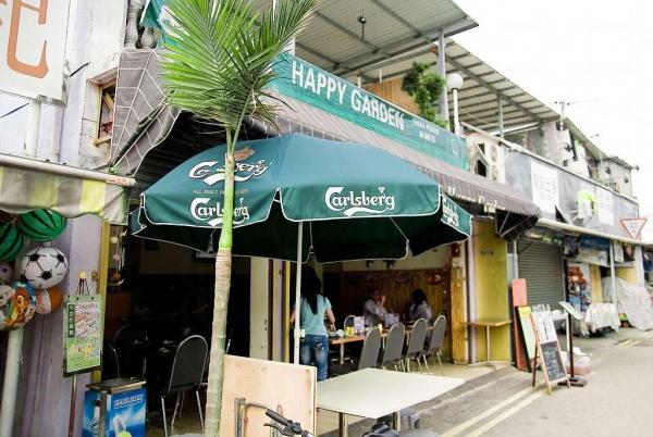 石澳樂園的泰國菜早有名氣。