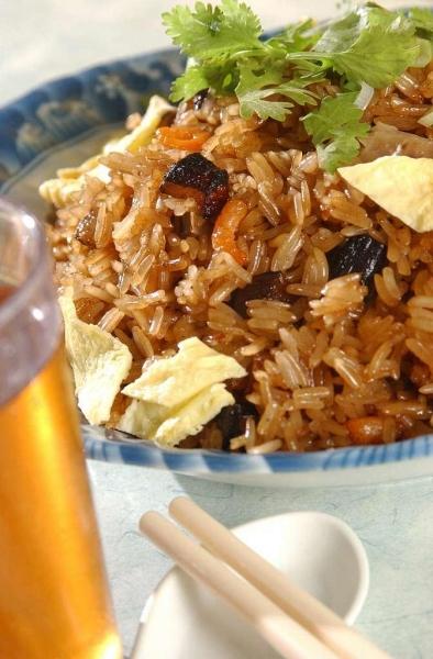 炒糯米飯是蓋鳴暉的至愛。