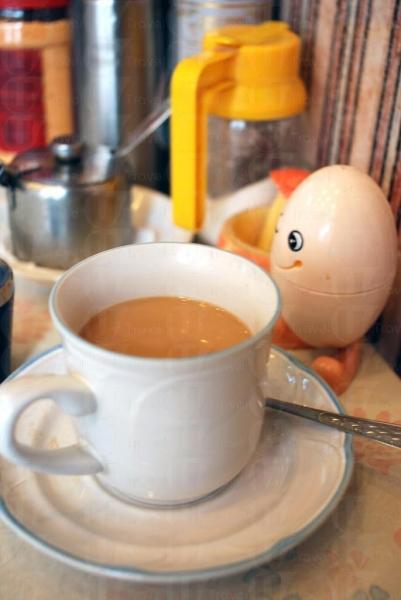一杯 $20 的藍山咖啡有高級餐廳的水準。