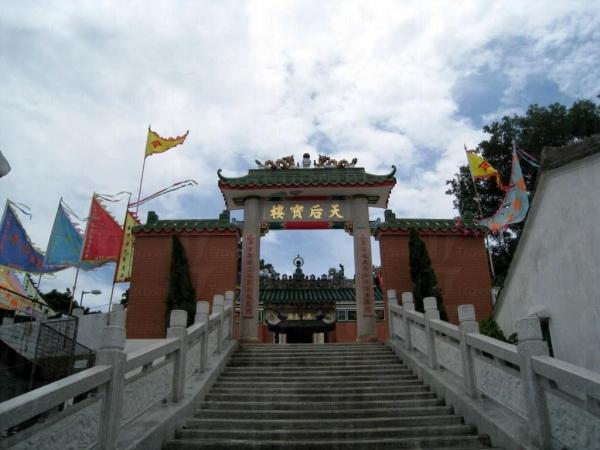 天后廟與天后寶樓在不久前才修葺過。