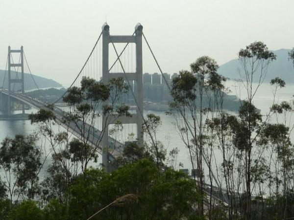 青衣自然徑可飽覽青馬大橋的景色,屬不少攝影發燒友必到之處。(相片來源:Clara Lee)