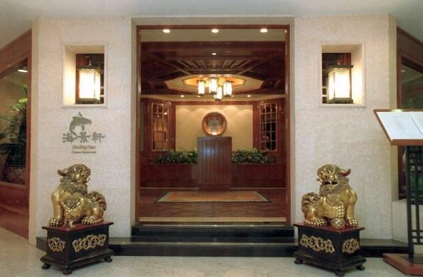 海景軒正門以傳統中國建築示人。