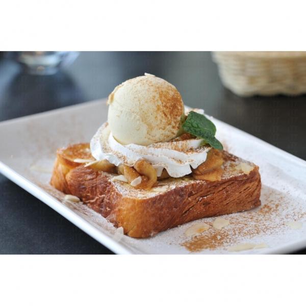 肉桂蘋果:香濃肉桂味道配以淡淡雪糕,清新可口。