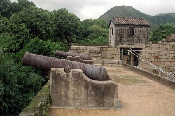每杖大炮在當年都被刻上文字,極具歷史價值。