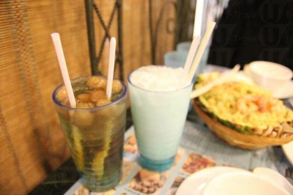 除了食物外,菜館也有各種特色飲品。