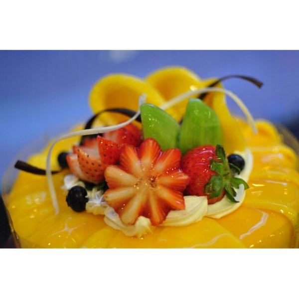 皇牌芒果蛋糕。