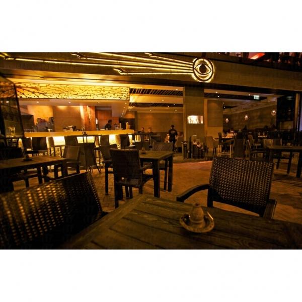 RA Restaurant & Lounge 以地道的中東與埃及風情為餐廳的主題。