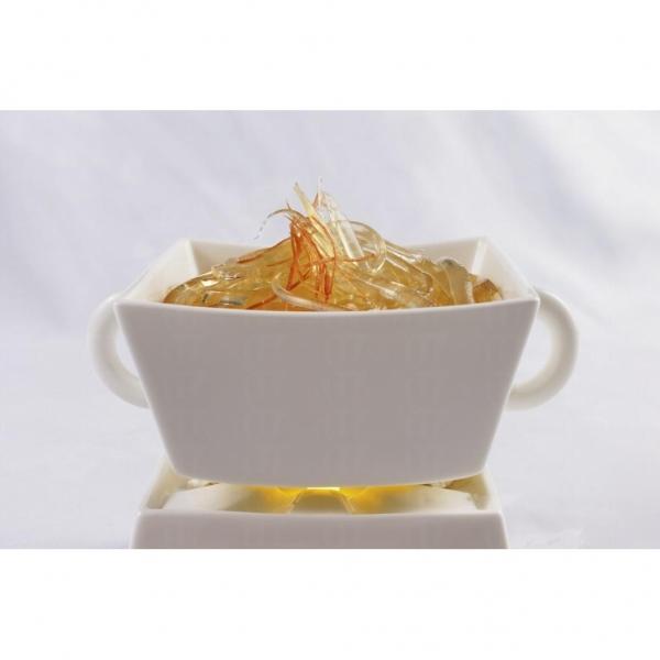 龍璽酒家的食材名貴新鮮,如玉液乾撈粗針翅。