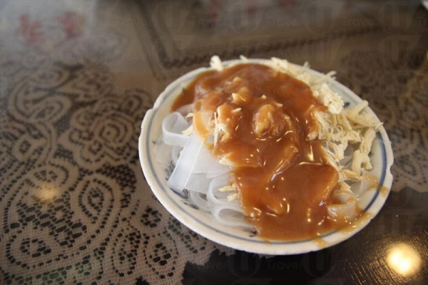 雞絲粉皮是上海菜的必點小吃之一。