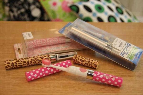 日本 Prel's 便攜式電動牙刷($169)。