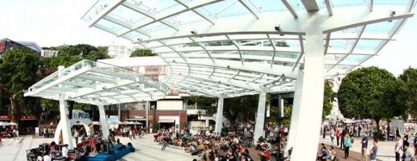 重新設計的露天劇場,是否有煥然一新的感覺?