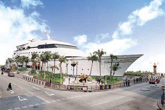 黃埔新天地的郵輪外形成為黃埔的經典地標。