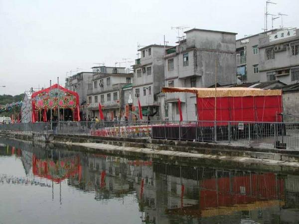 「 太平洪朝 」是粉嶺圍彭氏的新年祭祀活動。