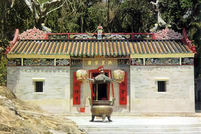 滘西洲洪聖古廟現已列為香港法定古蹟。