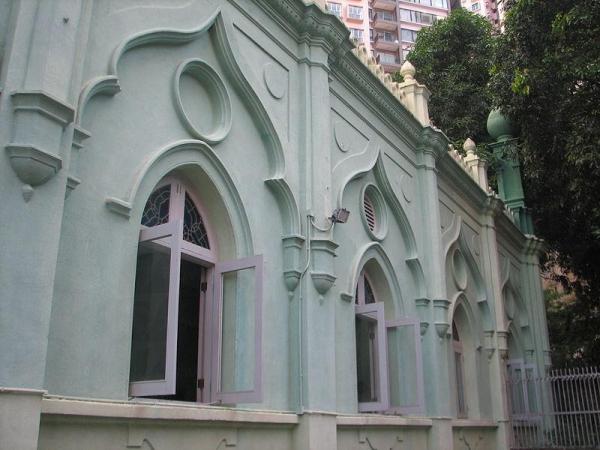 清真寺外部。