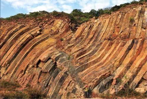 香港地質公園包括新界東北沈積岩和西貢東部火山岩兩大園區,合共8大景區。