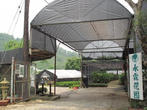永霖休閒農莊位於鶴藪圍路口。