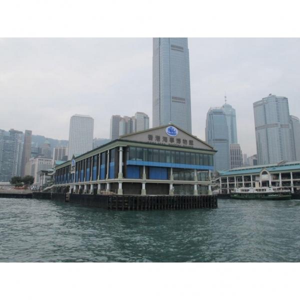 海事博物館新館位於中環八號碼頭 (官方圖片)