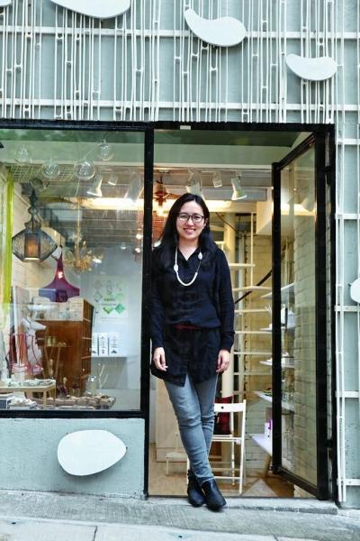 原本從事建築的 Catherine 以自己興趣來開設這 Abode 精品小店。