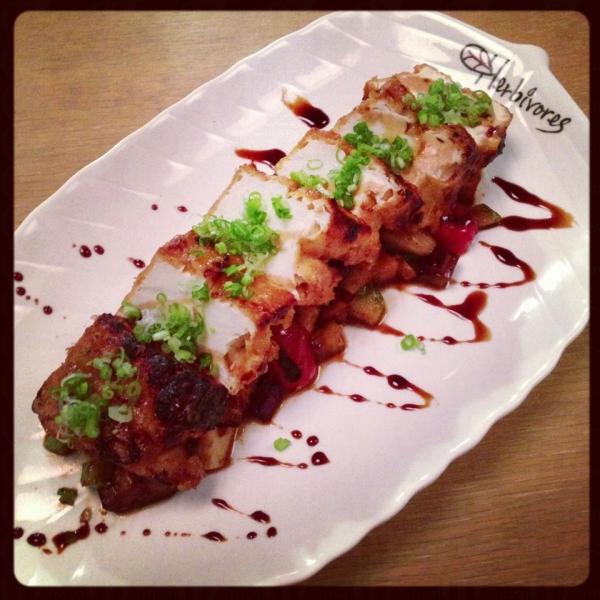 Miso Baled Tofu