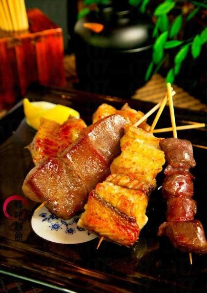 哪吒麵館-牛脷、鰻魚、雞翼串燒
