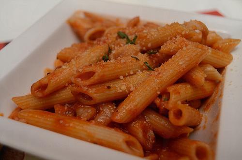 Pasta PaPa 餐牌上的意粉,均可選天使麵、長通粉及扁麵,甚至加錢轉意大利飯,自製個人口味(網上圖片)