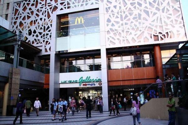 綠楊坊位處荃灣交通總匯,吸納九龍及新界的人流。