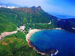 釣魚翁山及清水灣海灘 (漁農署圖片)