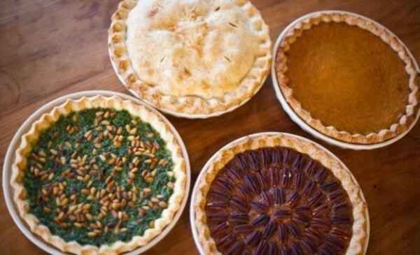 Tai Tai Pie Pies 的批類口味選擇眾多。