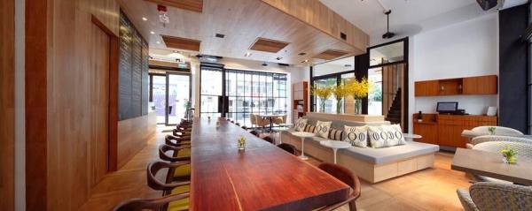 Shelter Lounge特別找來了外國室內設計公司幫忙,令整個環境布置更具休閒感。