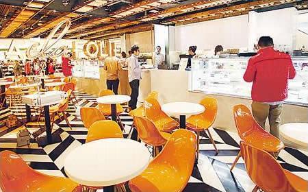 店子細細,只設 24 個座位,勝在格調時尚輕鬆,不覺拘束。