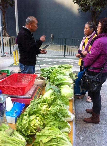 市民每逢星期四下午三時至五時可於機構選購本地農場生產的有機菜