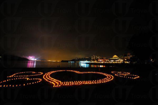 愉景灣的南歐小島風情,是戀人們談情說愛的熱點