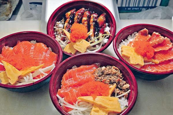 葵芳廣場半屋「五元魚生飯」引起網民熱烈討論。